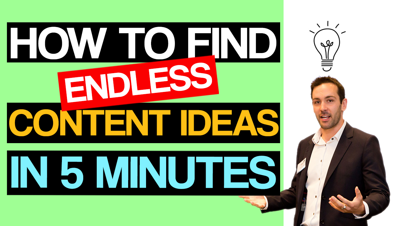 How to Find Mouth-Watering Content Your Prospects Will Love in 5min or Less